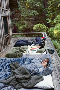 My kind of camping! ha ha, looks fun though! :)