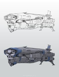 Spaceship 03, CHENGCHUN LIU on ArtStation at https://www.artstation.com/artwork/N4m3q