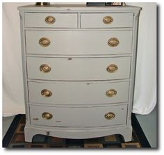 ASCP French Linen Chest Seen at Twig and Twine Nest Blog