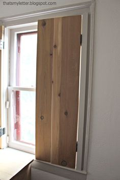Hello Pretty Handy Friends, Jaime From Thatu0027s My Letter Here Today To Share  How To Build Functional Interior Cedar Shutters Using Inexpensive AND  Readily ...