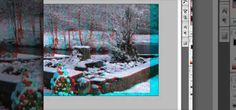 How to Make stereoscopic 3D pictures with Photoshop