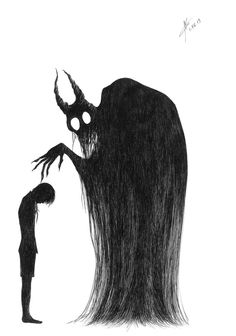 Nightmares have hands by littleCi on DeviantArt Creepy Drawings, Dark Art Drawings, Art Drawings Sketches Simple, Pencil Art Drawings, Beautiful Drawings, Horror Drawing, Horror Art, Arte Emo, Dark Art Illustrations