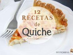 12 recetas de quiche