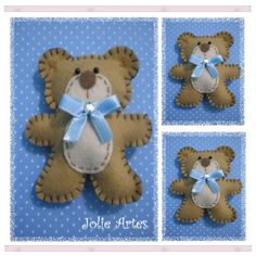 So sweet... This little Bear will make its way into a child's heart so easily!