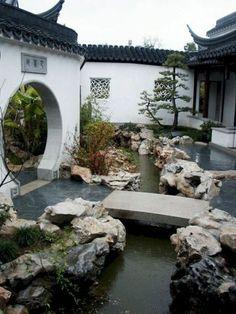 japanese garden 80 Wonderful Side Yard And Backyard Japanese Garden Design Ideas - Googodecor Zen Garden Design, Japanese Garden Design, Japanese House, Landscape Design, Japanese Gardens, Zen Gardens, Japanese Style, Outdoor Gardens, Chinese Courtyard