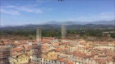 Panorama dalla Torre Guinigi di Lucca - YouTube