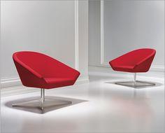 """Modern Casual Seating"" - Remy Chair Bernhardt Design"