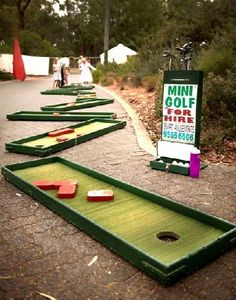 Indoor Mini Golf   Google Search | Mini Golf In Library | Pinterest | Glow,  Dark And Golf Now