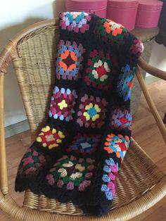 37bd889523 60s 70s Vintage Multicolored Afghan Crochet Knit by MsStreetUrchin Vintage  Bedding, Afghan Crochet, Vintage