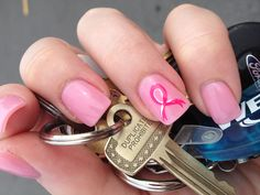Breast cancer nails