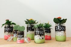 Un cadeau fait main pour la fête des mamies - M comme blog parental Planter Pots, Parental, Comme, Blog, Delaware, Routine, Father's Day, Handmade Gifts, Gift Ideas
