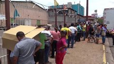 Desabastecimiento en Venezuela, testimoniales en las colas para comprar ...