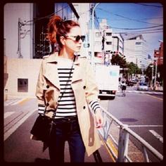 I like Rinka. japanese model