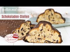 Schokoladen-Nuss-Stollen 🤤 I Stollen mal anders I Foodadventskalender #11 - YouTube French Toast, Muffin, Food And Drink, Breakfast, Youtube, Cookies, Chocolates, Pies, Food Cakes