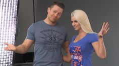Watch: Exclusive look at WrestleMania apparel Wwe Maryse, Womens Royal Rumble, Maryse Ouellet, Wwe Women's Division, Wrestling Videos, Wwe Tna, Wrestling Superstars, Wwe Womens, Total Divas