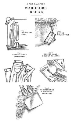 Wardrobe Rehab: 5 Steps to Perfecting Your Closet (Also: what challenges do you face with your wardrobe?)