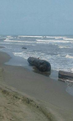 Maria Mulata en playa del caribe colombiano