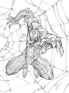 Venom Sketch by Max-Dunbar on DeviantArt