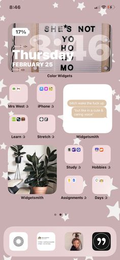 Cute App, App Icon, Ios App, Homescreen, Iphone, Screens, Organizing, Apps, Wallpapers