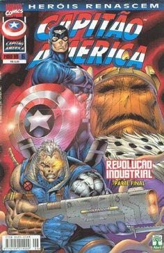 Cover for Heróis Renascem: Capitão América (Editora Abril, 1998 series) #6