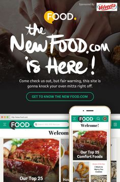 Food.com has a new site - come check us out!