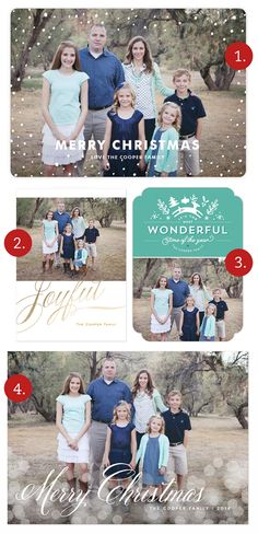 Which holiday card would YOU choose? So many beautiful designs from Minted! Visit the post for a coupon code worth 15% off your entire card order!