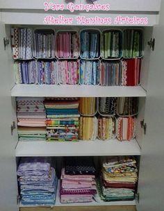 organizando tecidos