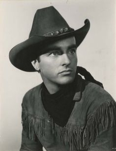 Montgomery Clift in a publicity still for Red River (1948)