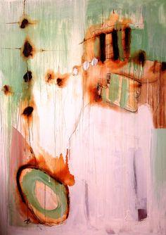 Saatchi Online Artist: Naz Kaya-Erdal; Mixed Media, Painting Serenity