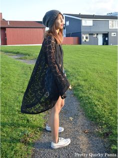 DIY: lace kimono
