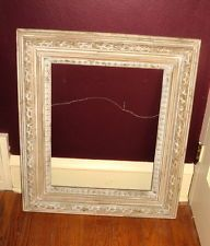 Ornate Vintage Wood Picture Frame For 16x20 Inch Oil Painting In