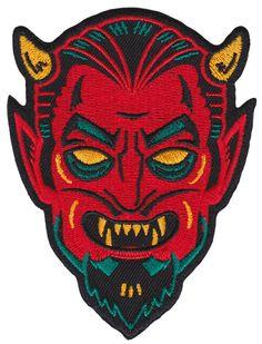 KUSTOM KREEPS Creepy Devil Patch ($7 USD) (from Sourpuss Clothing)