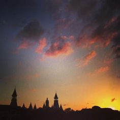 Lest you forget how beautiful a #Baylor sunset is...
