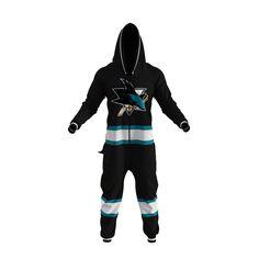 NHL Onesie - San Jose Sharks - Hockey Sockey