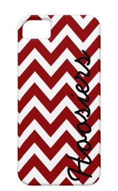 Indiana Hoosiers Chevron Phone Case by AlyssaCreates on Etsy, $23.99