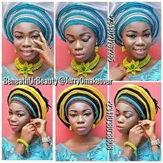 Uchafu, gele ; the African beauty