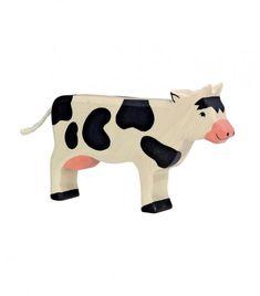 Vaca de madera de Goki