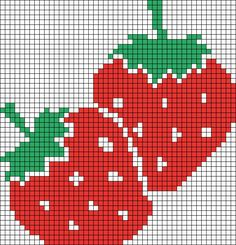 Alpha Friendship Bracelet Pattern added by missmando. Cross Stitch Charts, Cross Stitch Designs, Cross Stitch Patterns, Cross Stitch Fruit, Cross Stitch Flowers, Cross Stitching, Cross Stitch Embroidery, Hand Embroidery, Tapestry Crochet Patterns