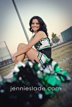 Senior Portrait / Photo / Picture Idea - Cheer / Cheerleader / Cheerleading Plus Cheerleading Senior Pictures, Senior Cheerleader, Cheerleading Cheers, Football Cheer, Senior Photos Girls, Senior Girl Poses, Senior Girls, Senior Session, Senior Portrait Poses