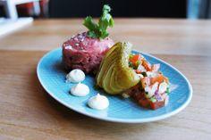 KING OF BEEF  #beef #tartar #meat #homemade #fresh #lunch #dinner #plate #starter #appetizer #superconceptspace #restaurant #berlinfood