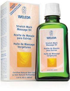 Stretch Mark Massage Oil by Weleda