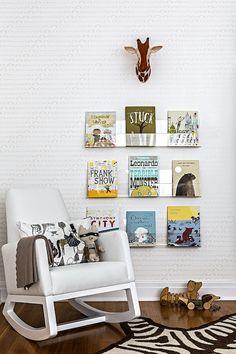 We adore a bookshelf