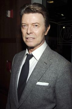 """""""Tomorrow belongs to those who can hear it coming."""" — beautiful Bowie in 2007 photo © REX"""