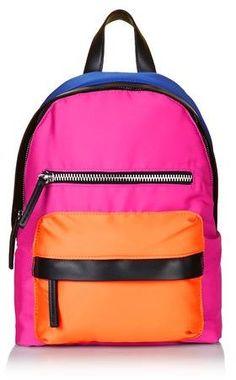 TopShop Colour Block Backpack