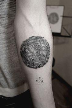 Organic Lines Arm Tattoo                                                                                                                                                                                 Más