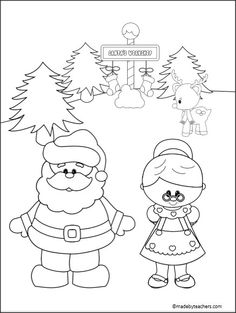 123 best christmas printables images school 1st grades activities Nativity Scavenger Hunt Clues free santa coloring page for christmas and the winter holidays santa coloring pages christmas