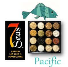 Pacific Gourmet Sea Salt Sampler with 16 Gourmet Sea Salts Complimenting the Cuisine of the Pacific Rim. Presented in a clear plastic case with full description of each salt.. - http://spicegrinder.biz/pacific-gourmet-sea-salt-sampler-with-16-gourmet-sea-salts-complimenting-the-cuisine-of-the-pacific-rim-presented-in-a-clear-plastic-case-with-full-description-of-each-salt/