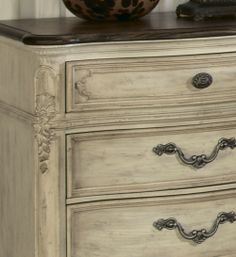 Jessica McClintock Boutique Collection by American Drew |  American Drew Jessica McClintock Boutique Nightstand in White Veil ...www.MyRoomsFurnitureGallery.com