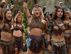 To a strong Amazon Nation - Xena