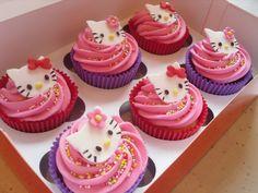 hello kitty cupcakes | Hello Kitty Cupcakes Boxed | Flickr - Photo Sharing!